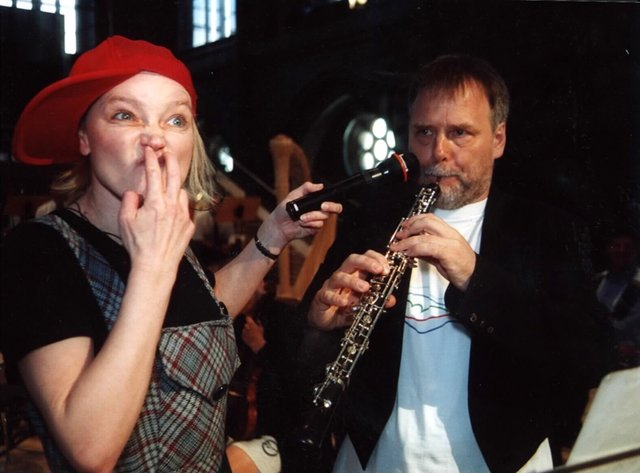 Permanentatmung bei der Oboe