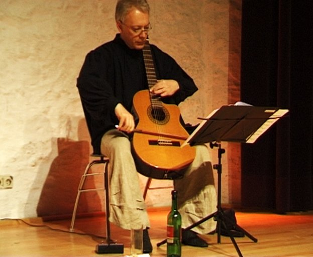 Die Streich-Gitarre