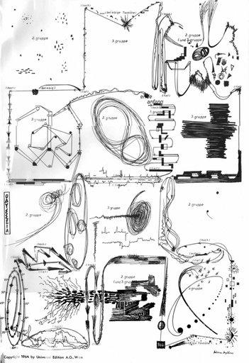 "Partitur ""Odyssee"", Anestis Logothetis"