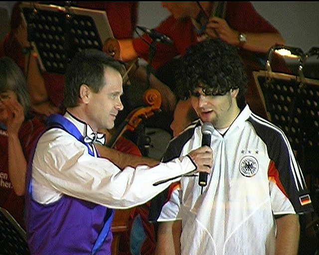 Soccer Concert: Interview with Gerd Müller