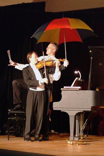 Der Winter von Vivaldi als Violin-Duo