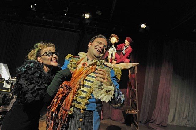 Theaterleute 2, Foto: Maurice Korbel
