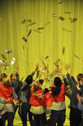 It\\\\\\\'s raining choclates - Debut Performance Foto:© R. Schwarz