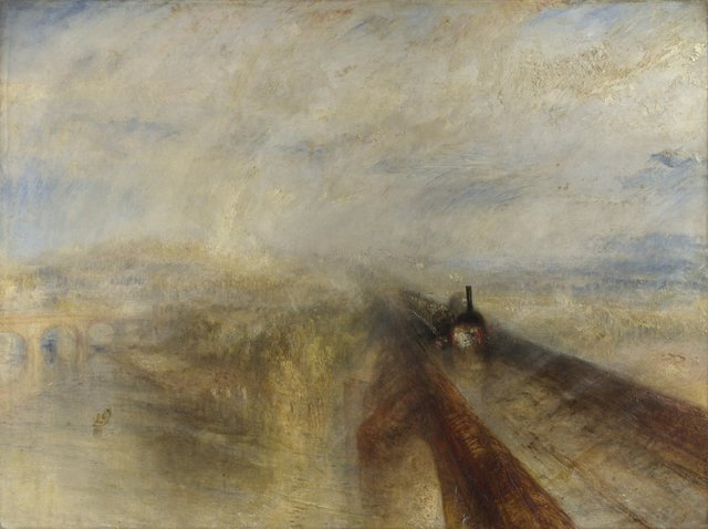 William Turner, Rain, Steam and Speed